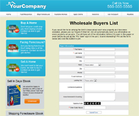 Real Estate Wholesaler Websites